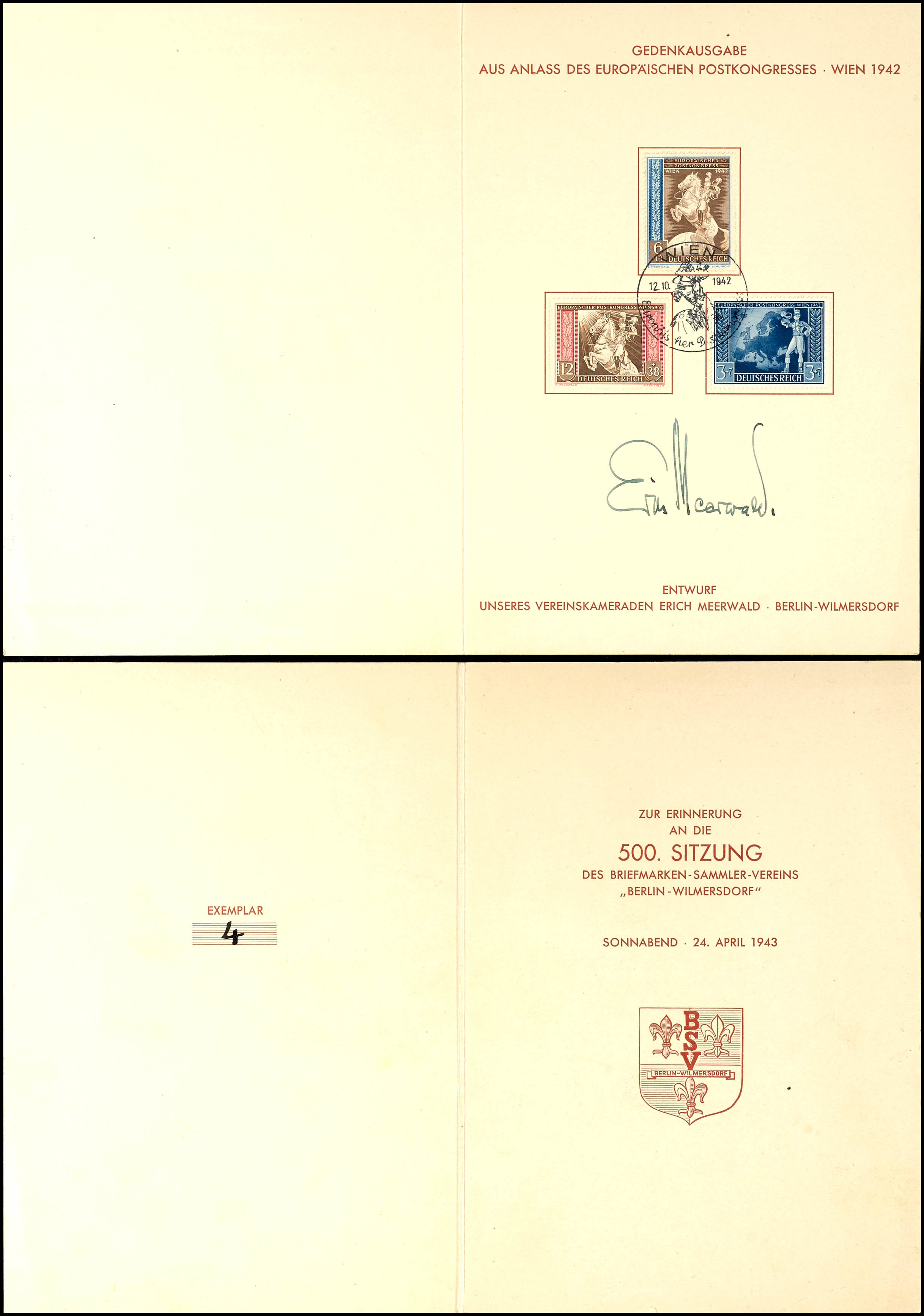 16 1945 AM-Post Prophila Collection Bizone Alliierte Besetzung Briefmarken f/ür Sammler