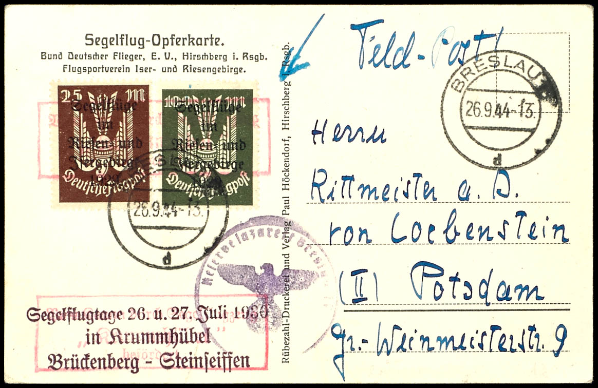 Breslau Karte 1930.Catalog Level 3